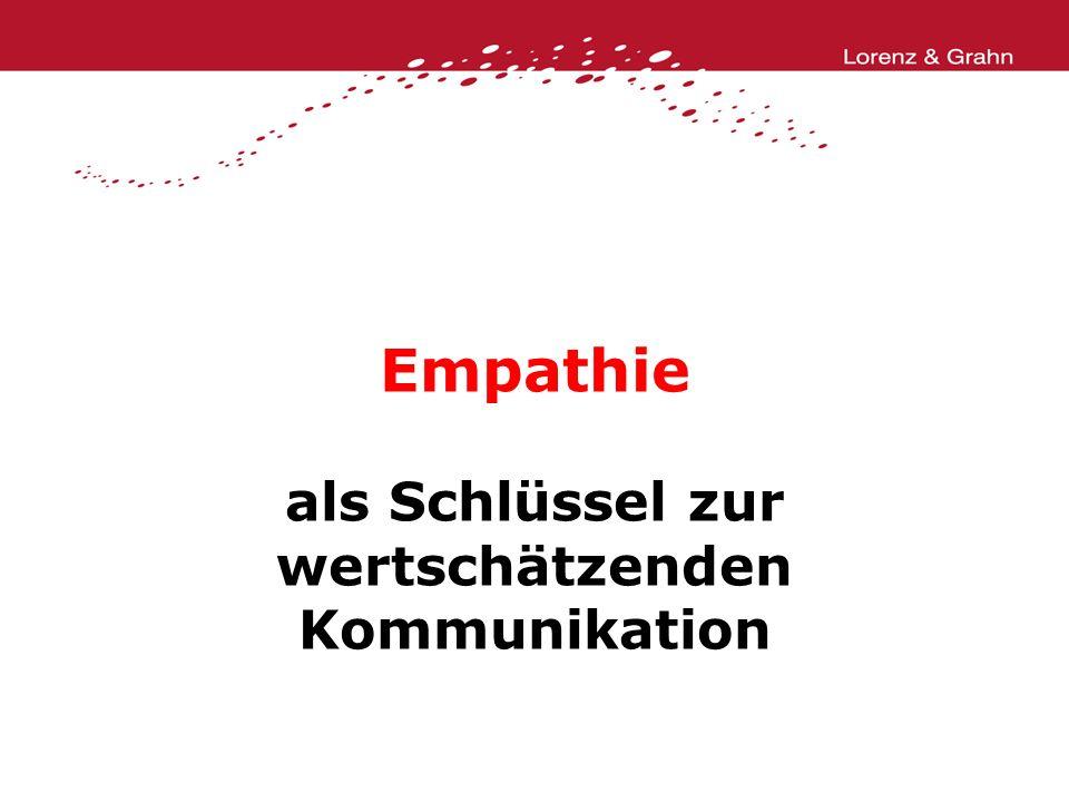 Empathie als Schlüssel zur wertschätzenden Kommunikation