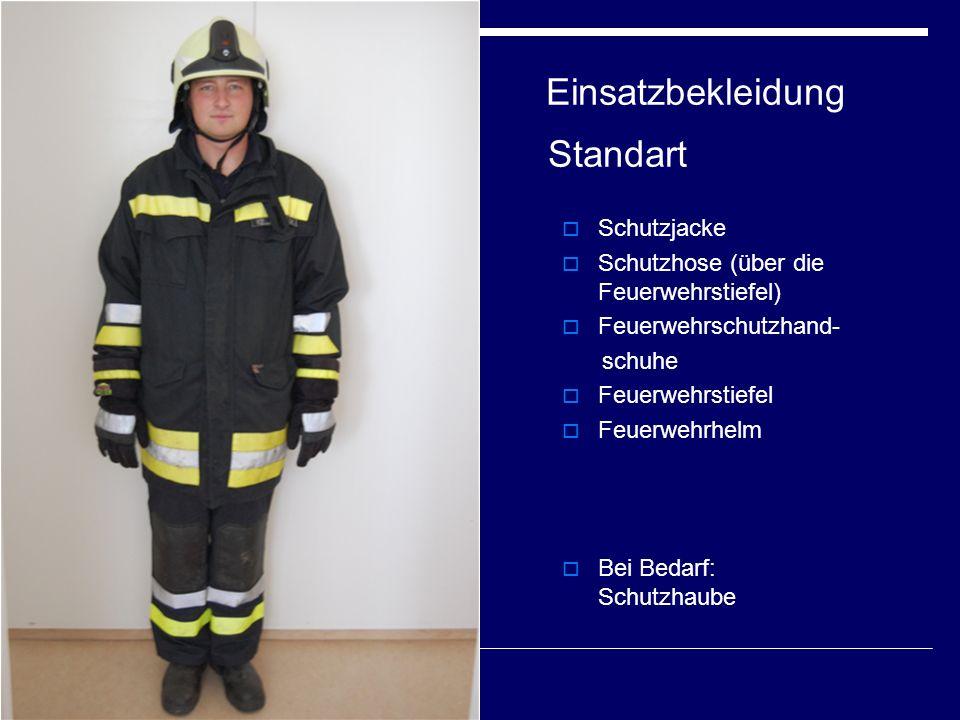Einsatzbekleidung Standart
