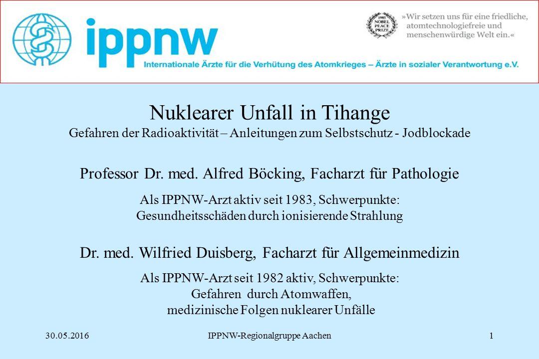 Nuklearer Unfall in Tihange
