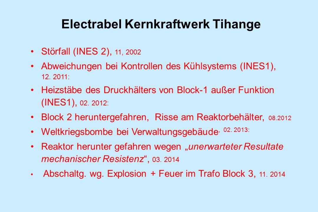 Electrabel Kernkraftwerk Tihange