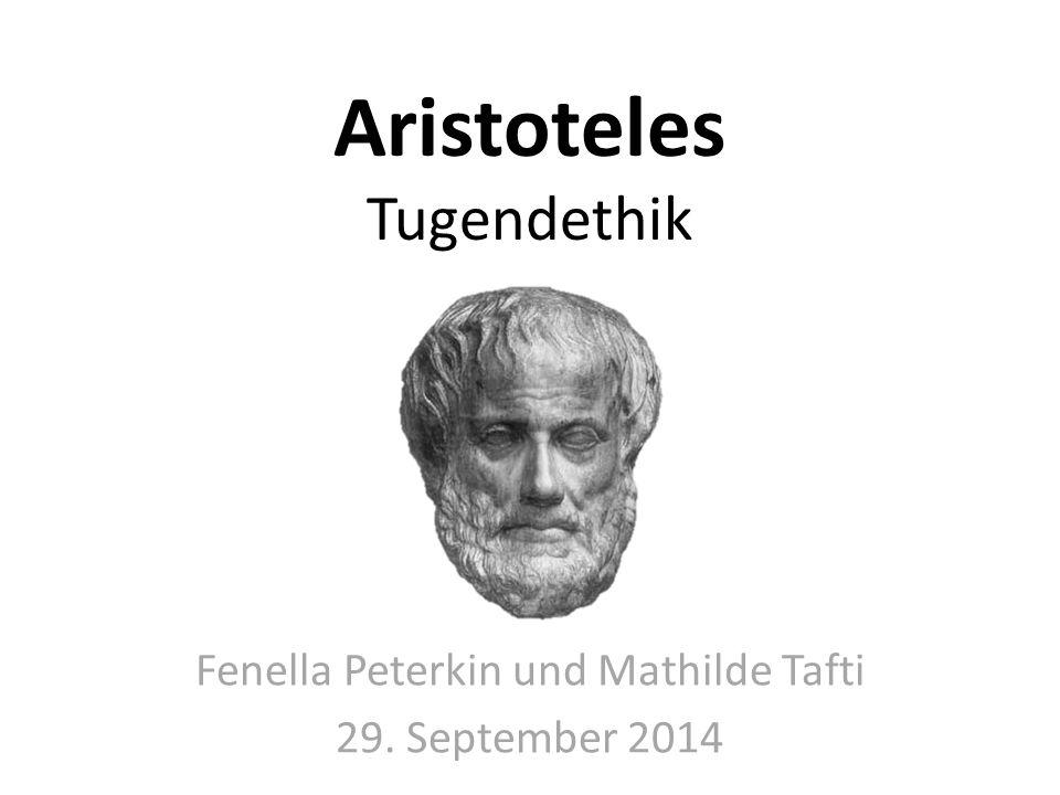 Aristoteles Tugendethik