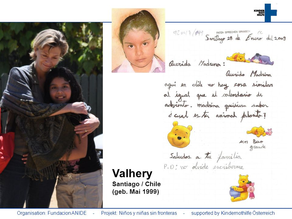 Valhery Santiago / Chile (geb. Mai 1999)