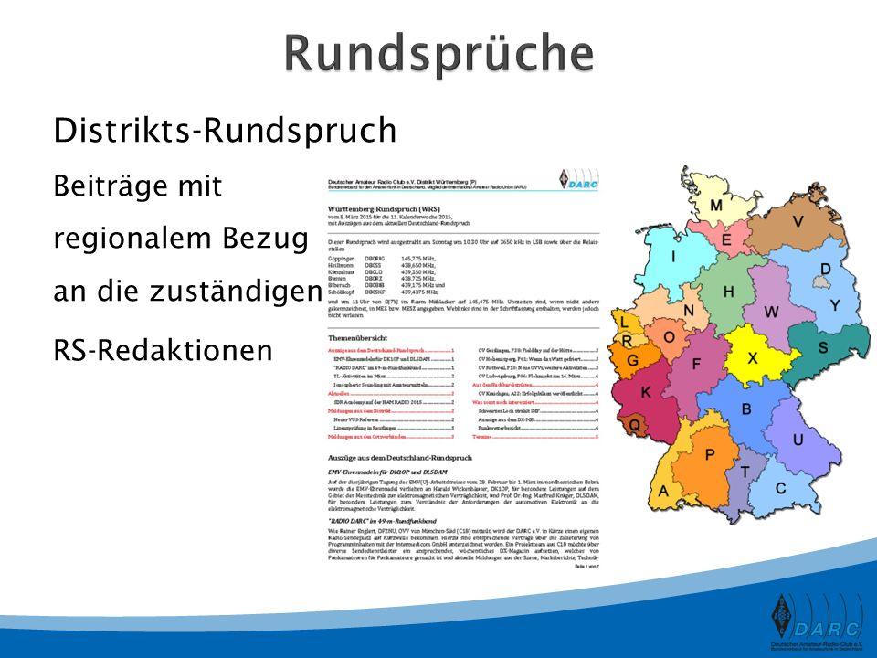 Rundsprüche Distrikts-Rundspruch