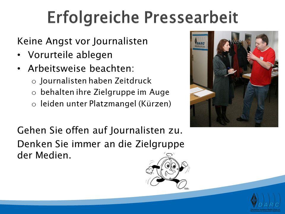 Erfolgreiche Pressearbeit