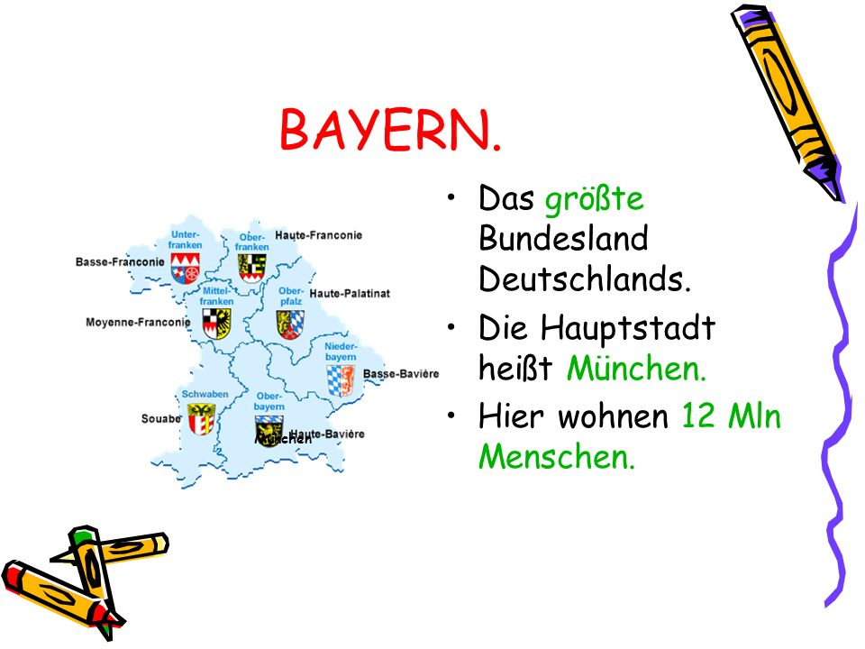 BAYERN. Das größte Bundesland Deutschlands.