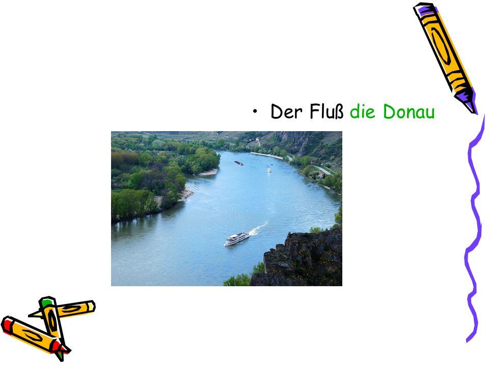 Der Fluß die Donau