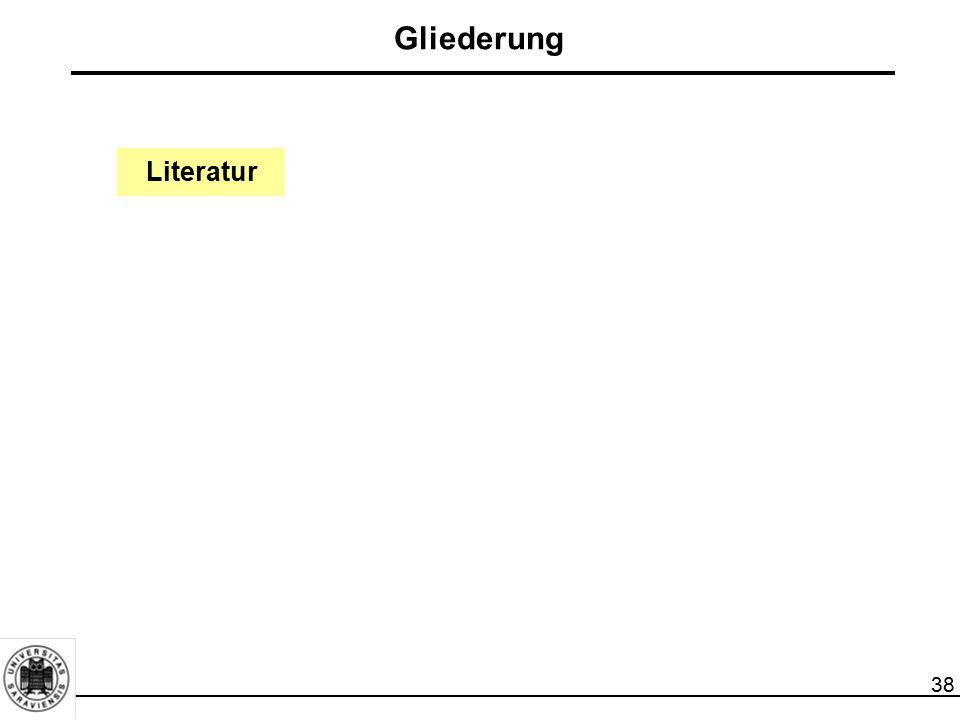 Gliederung Literatur