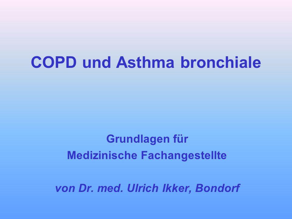 COPD und Asthma bronchiale