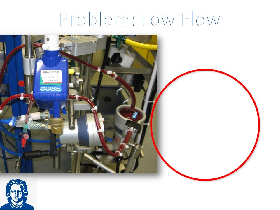 Problem: Low Flow Problem: Low Flow