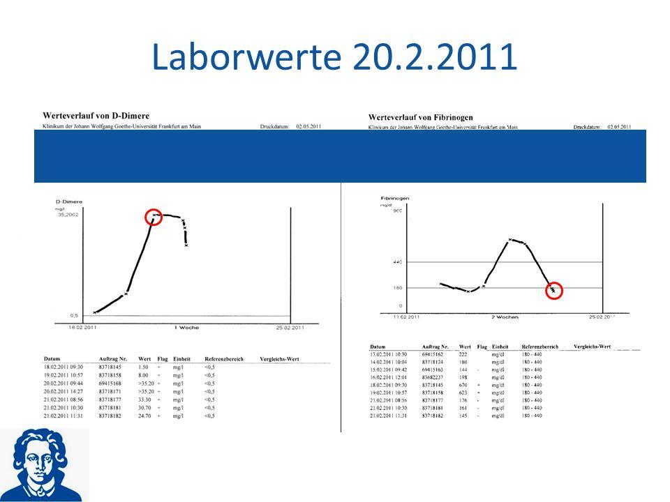 Laborwerte 20.2.2011