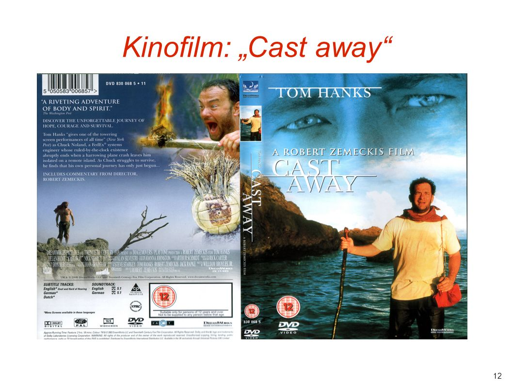 "Kinofilm: ""Cast away"
