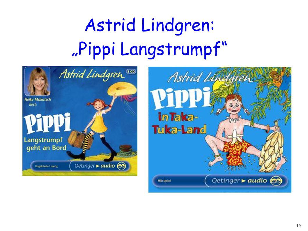 "Astrid Lindgren: ""Pippi Langstrumpf"
