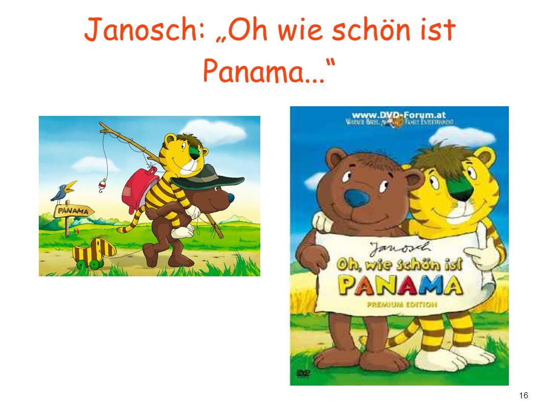 """Janosch: """"Oh wie schön ist Panama..."""
