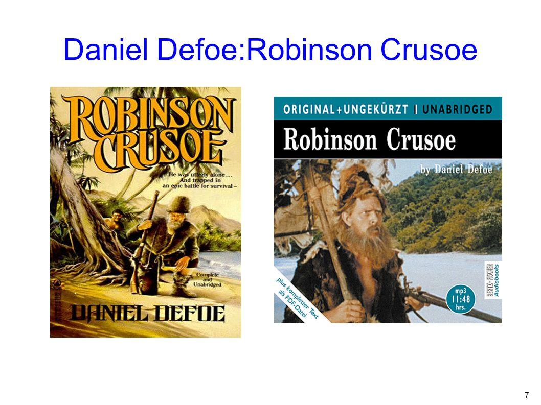 Daniel Defoe:Robinson Crusoe