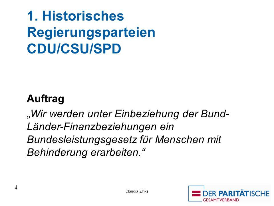 1. Historisches Regierungsparteien CDU/CSU/SPD