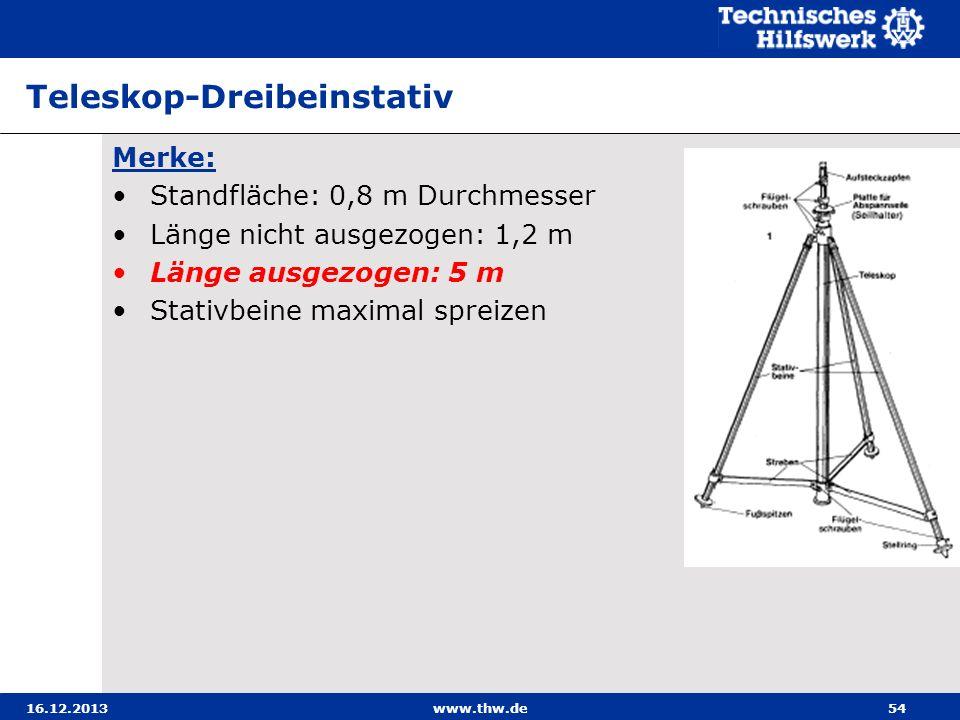 Teleskop-Dreibeinstativ