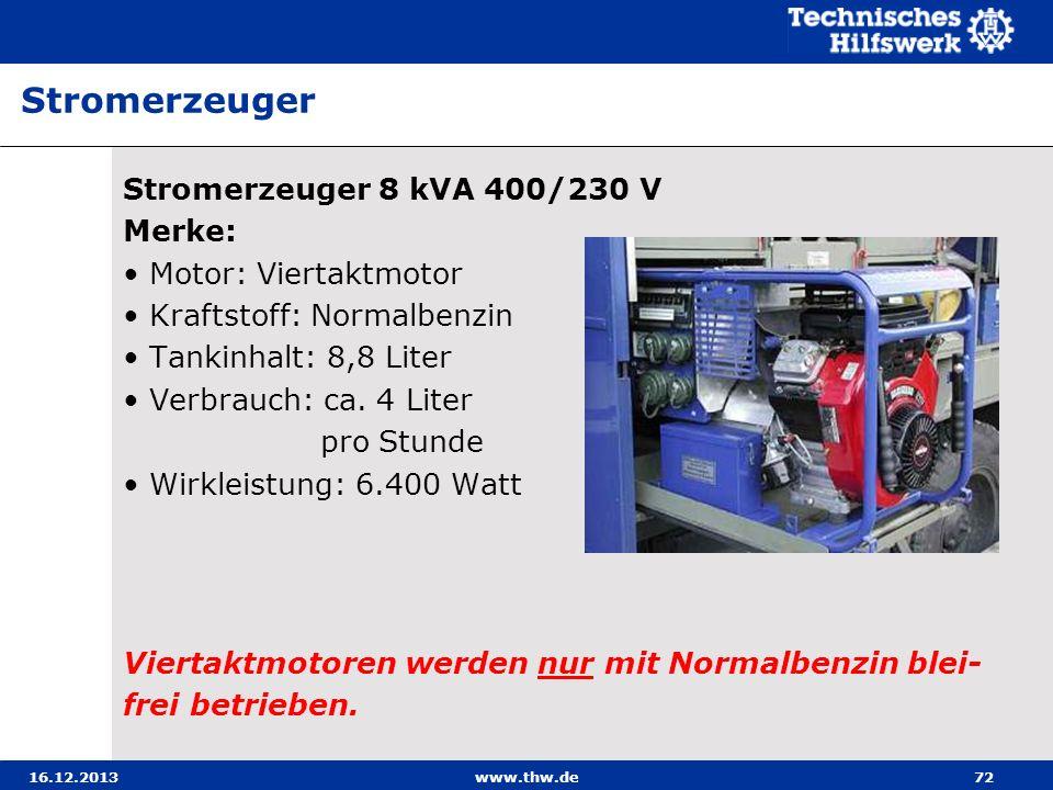 Stromerzeuger Stromerzeuger 8 kVA 400/230 V Merke: