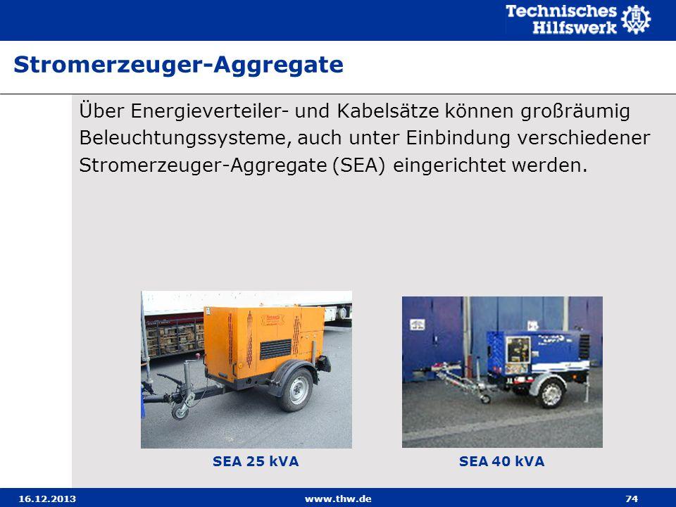 Stromerzeuger-Aggregate