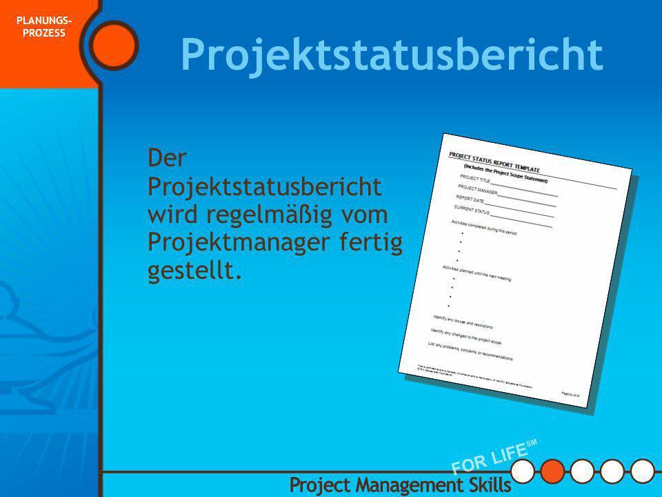 Projektstatusbericht