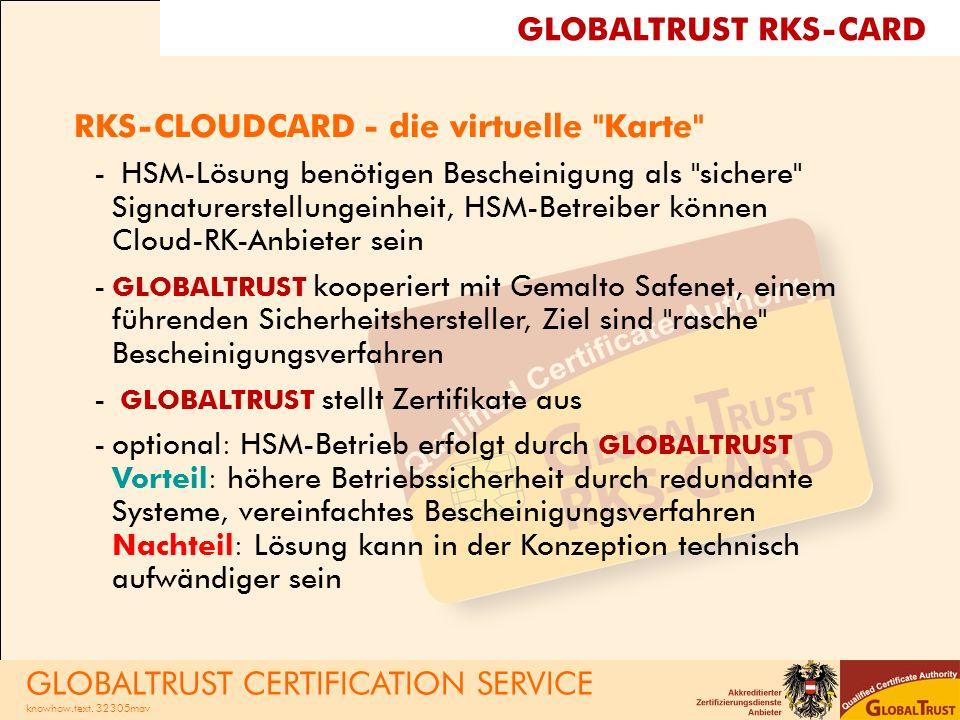 RKS-CLOUDCARD - die virtuelle Karte