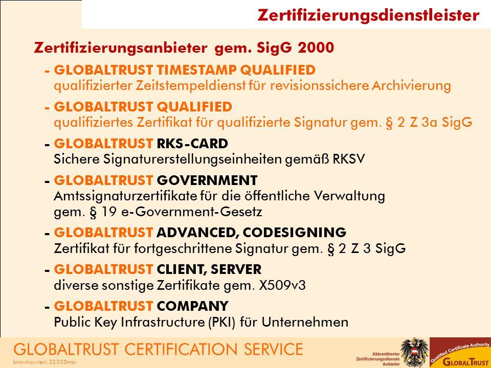 Zertifizierungsdienstleister