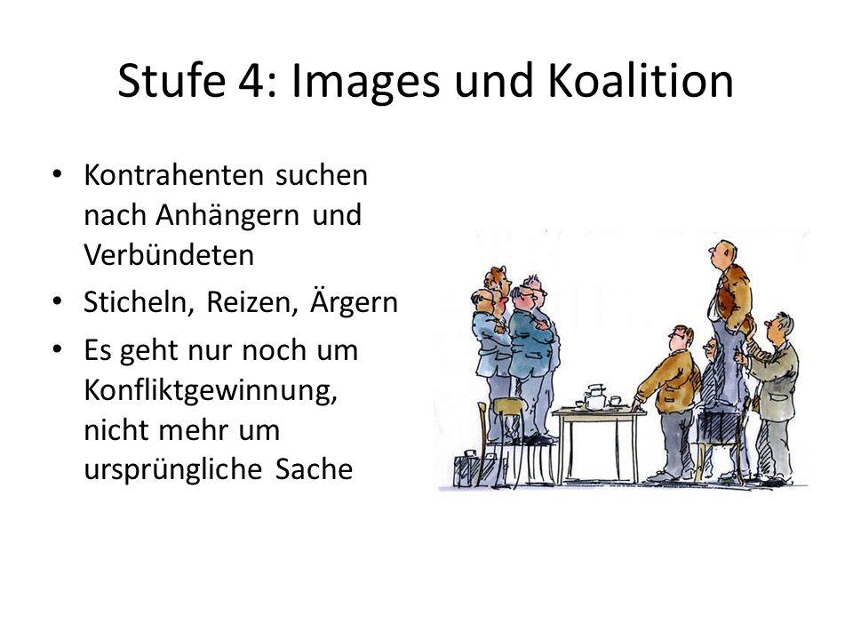 Stufe 4: Images und Koalition