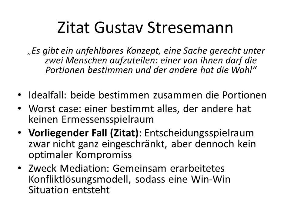 Zitat Gustav Stresemann