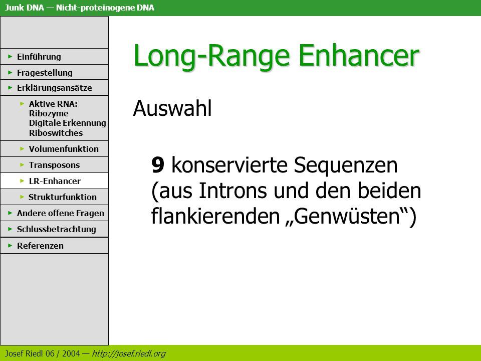 Long-Range Enhancer Auswahl