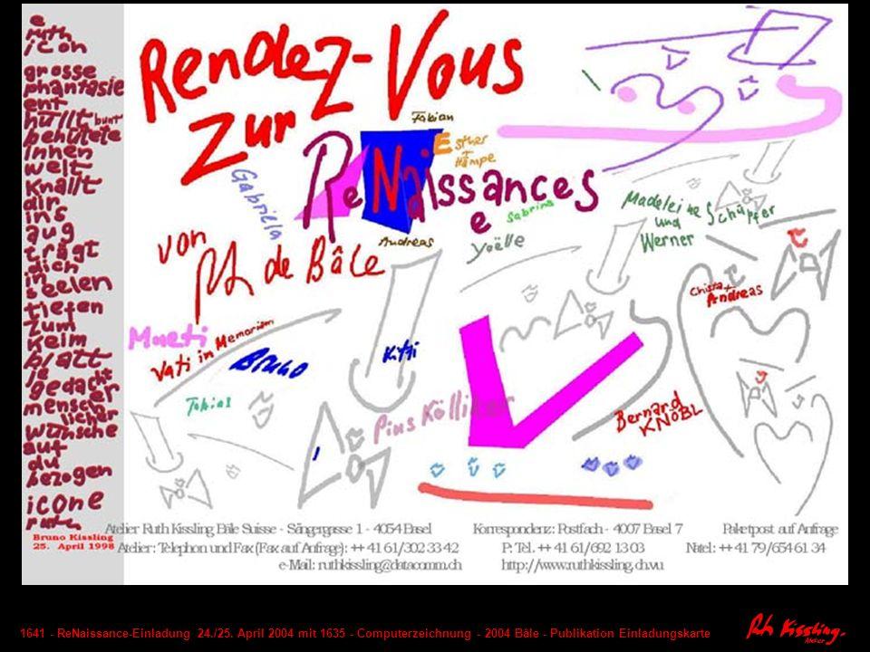 1641 - ReNaissance-Einladung 24. /25