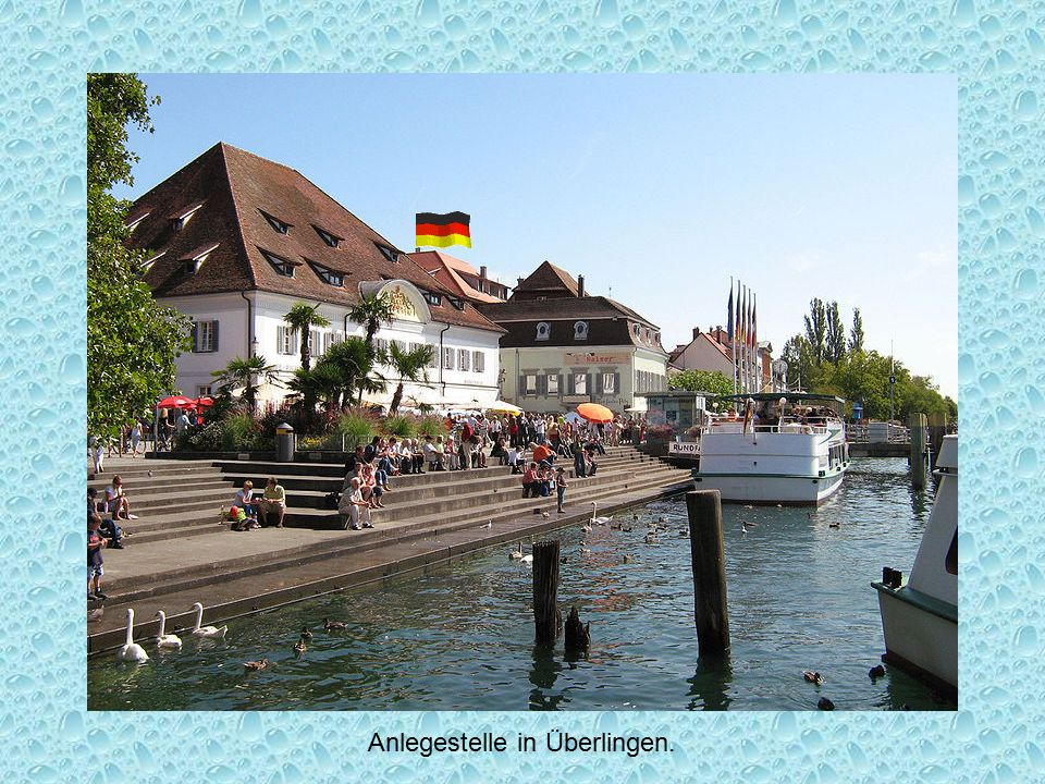 Anlegestelle in Überlingen.