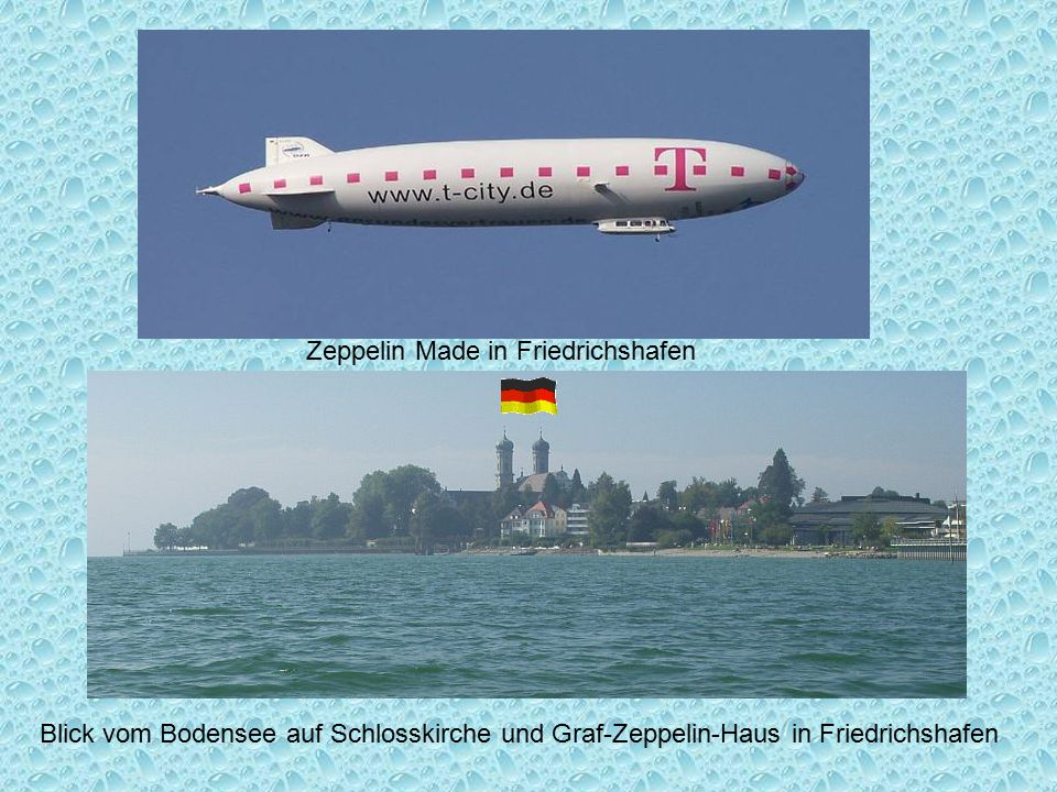 Zeppelin Made in Friedrichshafen