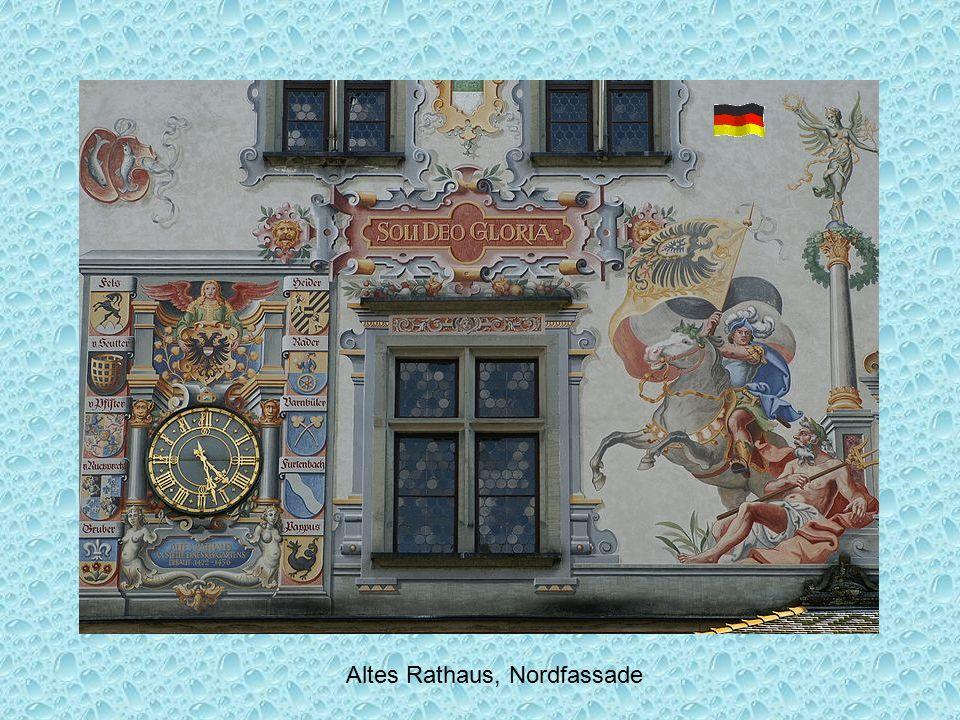 Altes Rathaus, Nordfassade