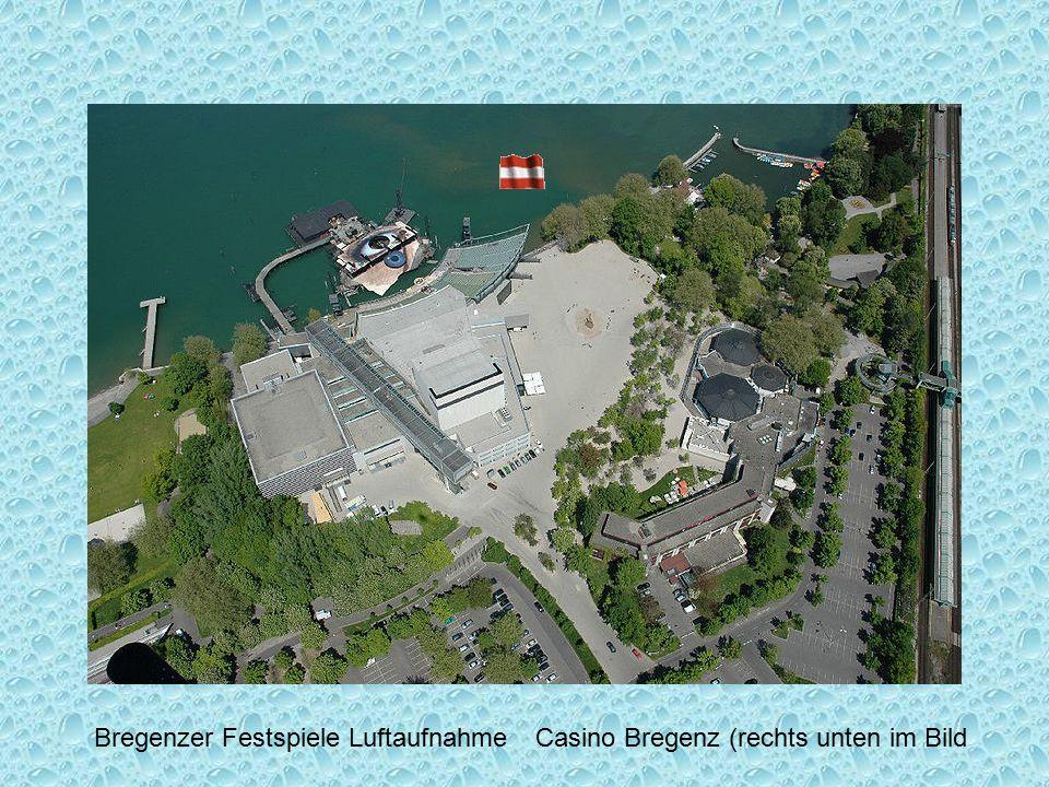 Bregenzer Festspiele Luftaufnahme