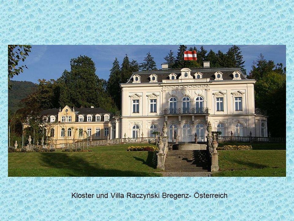 Kloster und Villa Raczyński Bregenz- Österreich
