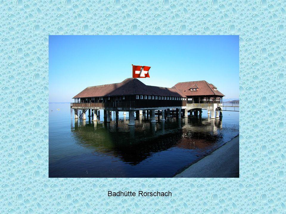 Badhütte Rorschach