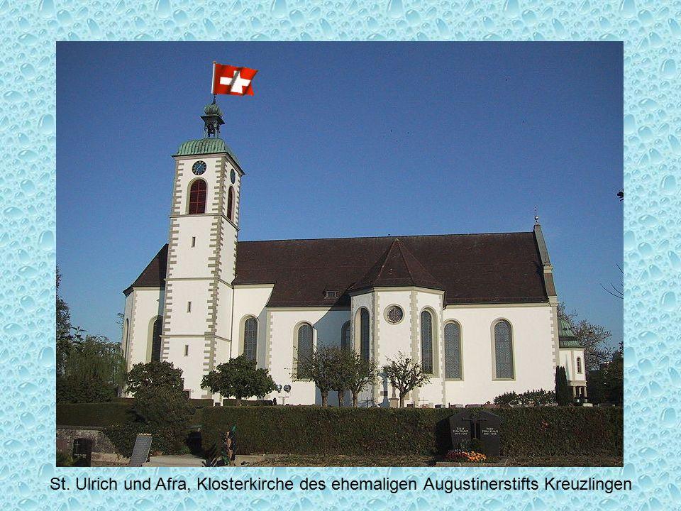 St. Ulrich und Afra, Klosterkirche des ehemaligen Augustinerstifts Kreuzlingen