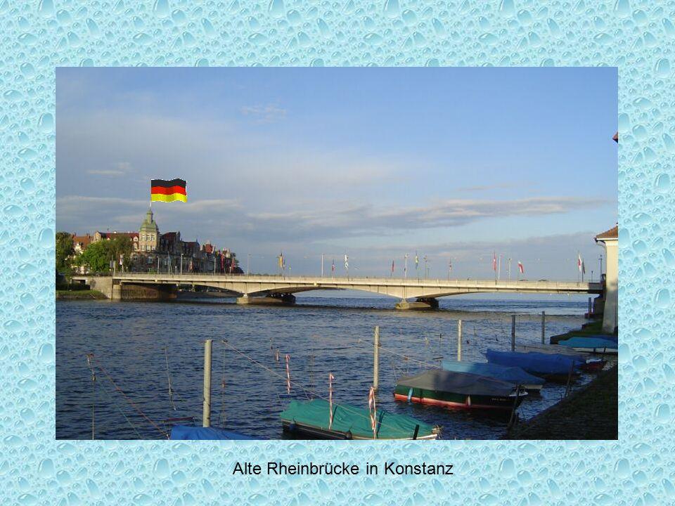 Alte Rheinbrücke in Konstanz