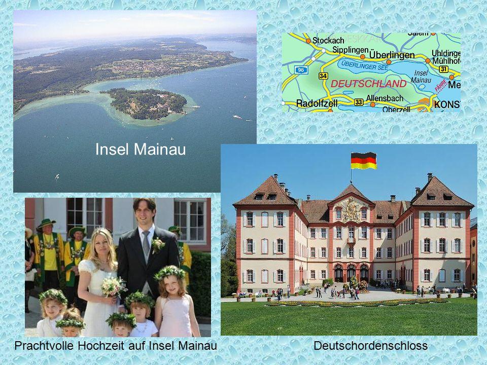Insel Mainau Prachtvolle Hochzeit auf Insel Mainau Deutschordenschloss