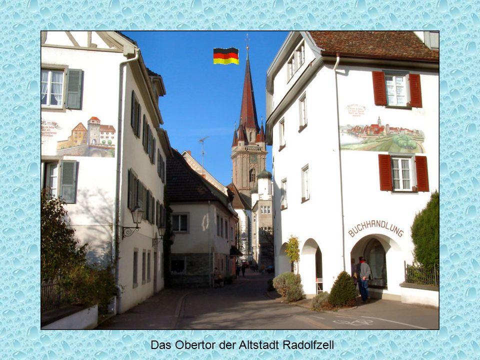 Das Obertor der Altstadt Radolfzell