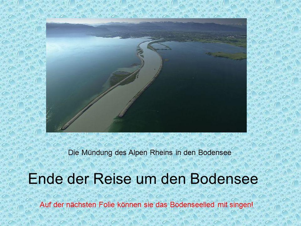 Ende der Reise um den Bodensee