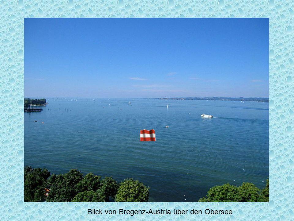 Blick von Bregenz-Austria über den Obersee