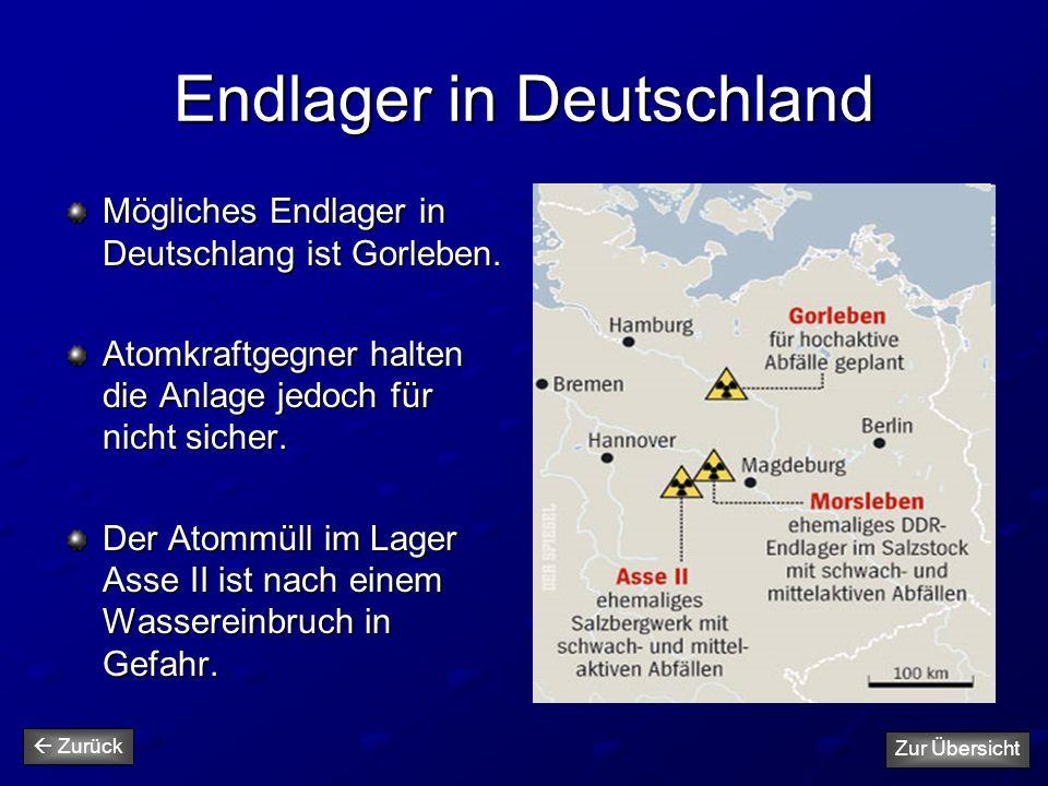 Endlager in Deutschland