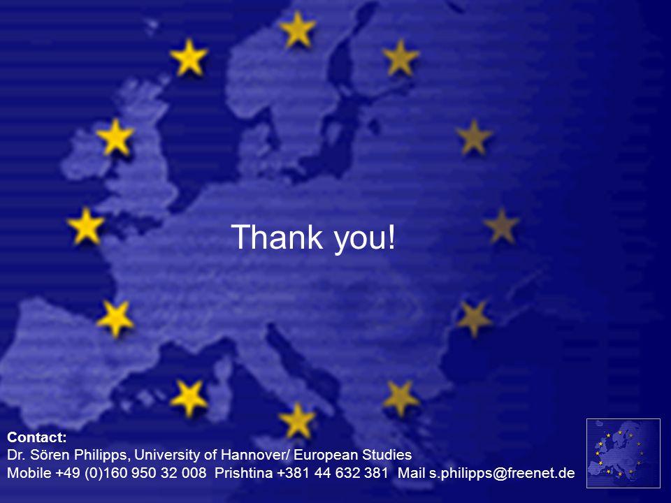 Thank you!Contact: Dr. Sören Philipps, University of Hannover/ European Studies.