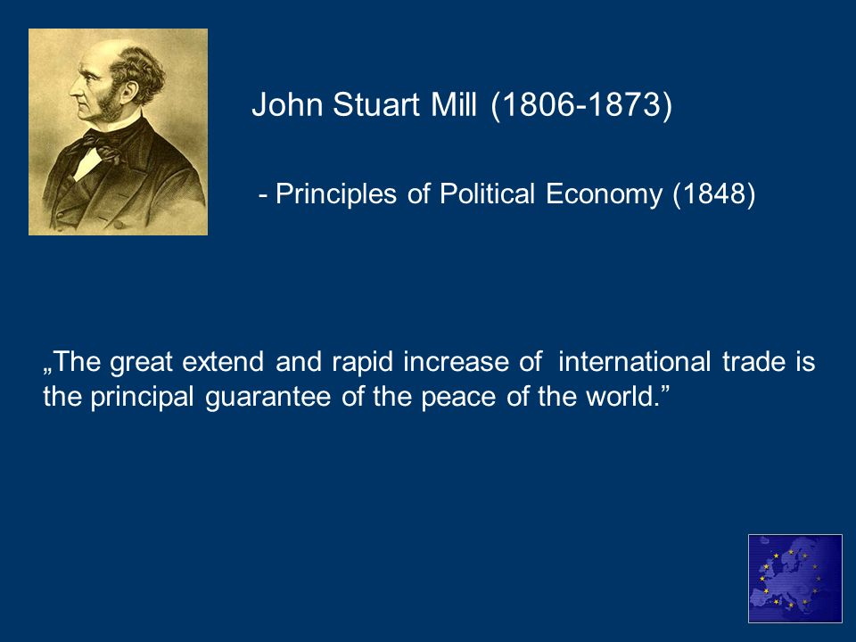John Stuart Mill (1806-1873) - Principles of Political Economy (1848)