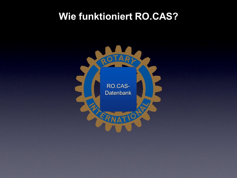 Wie funktioniert RO.CAS
