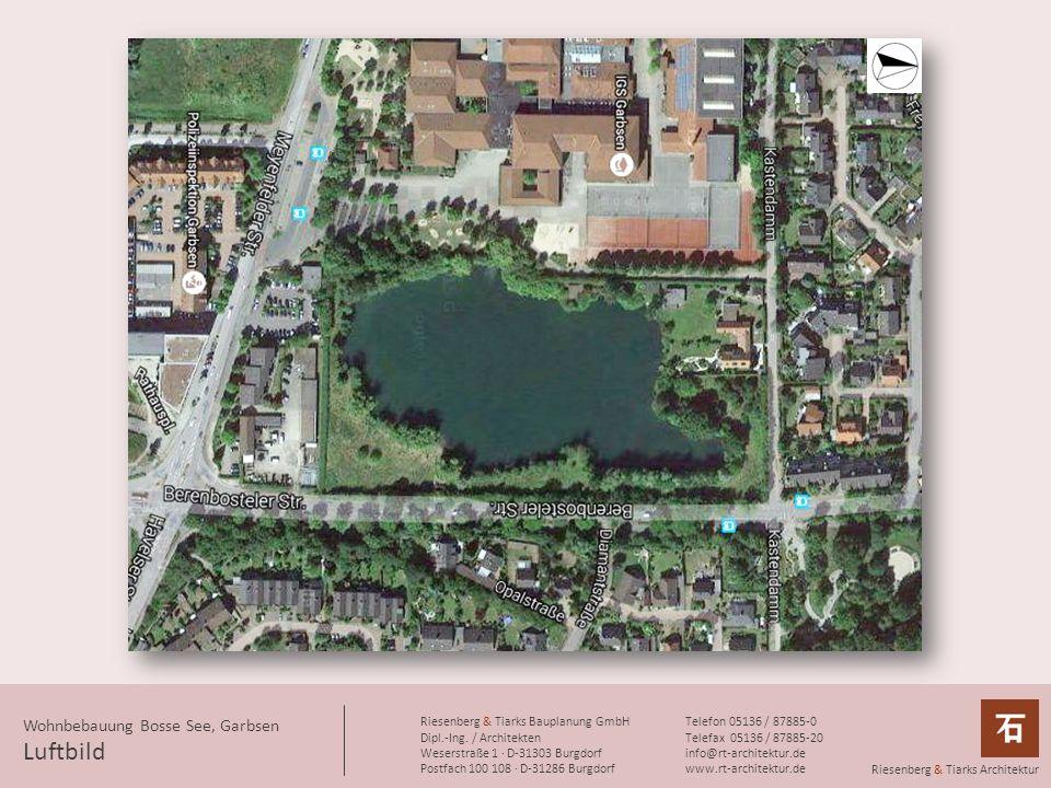 Luftbild Wohnbebauung Bosse See, Garbsen