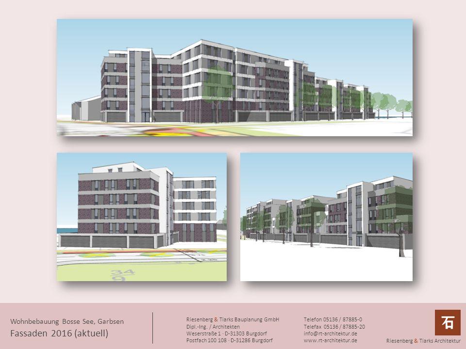 Fassaden 2016 (aktuell) Wohnbebauung Bosse See, Garbsen