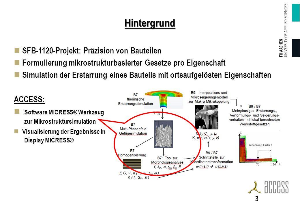 Hintergrund SFB-1120-Projekt: Präzision von Bauteilen