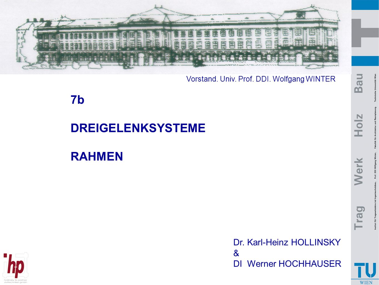 7b DREIGELENKSYSTEME RAHMEN Dr. Karl-Heinz HOLLINSKY &
