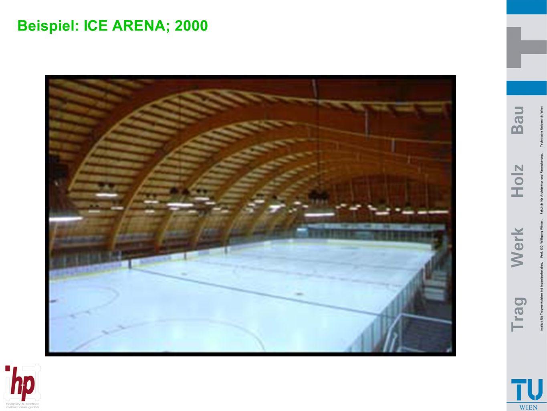 Beispiel: ICE ARENA; 2000